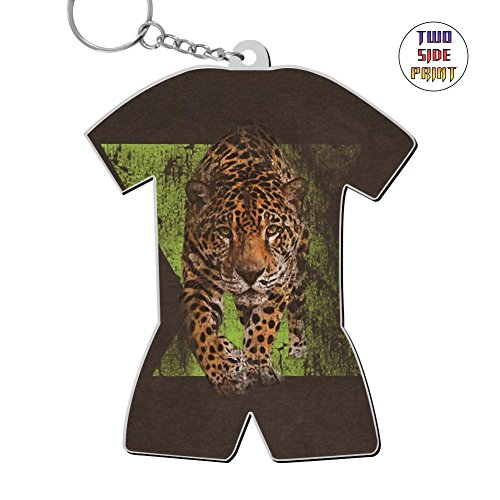 Cool Keychain Dynamic Jaguar Keyring World Cup Polo Shirt Logo Key Ring Key Fob Alloy Nice Gift by Triciaedcf
