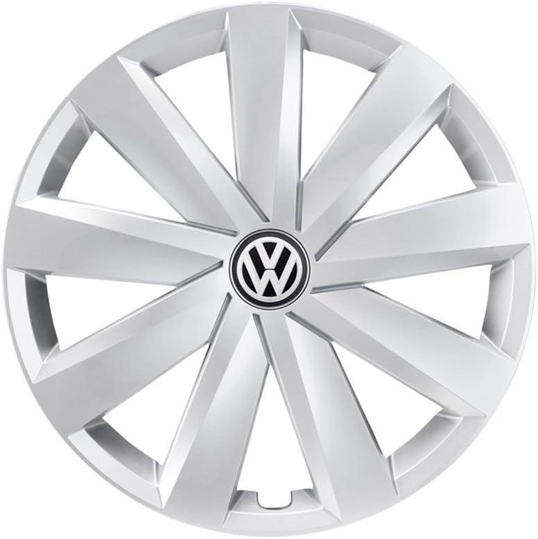 Volkswagen 3g0601147 Yti Radkappe 1 Stück Radzierblende 16 Zoll Radblende Silber Auto