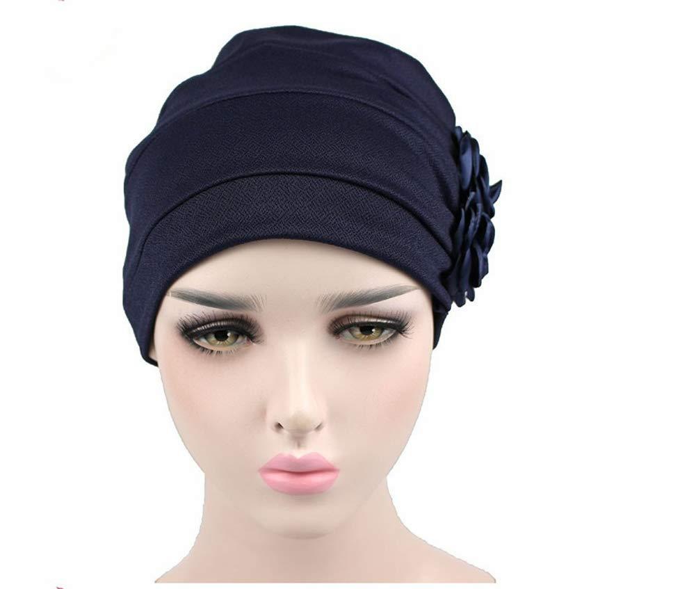 Tukistore Copricapo Turbante,Berretto Turbante per la perdita di capelli cancro chemioterapia