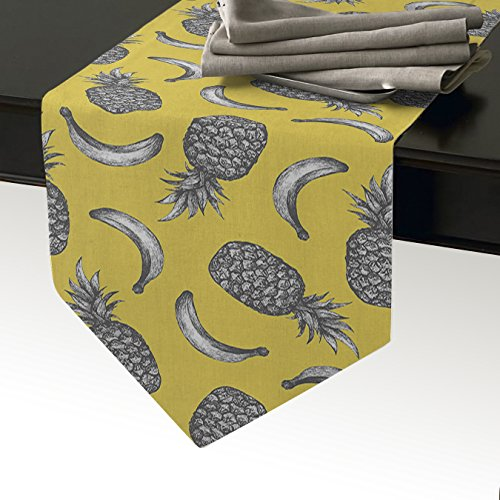 Cloud Dream Pineapple banana seamless pattern Table Runners