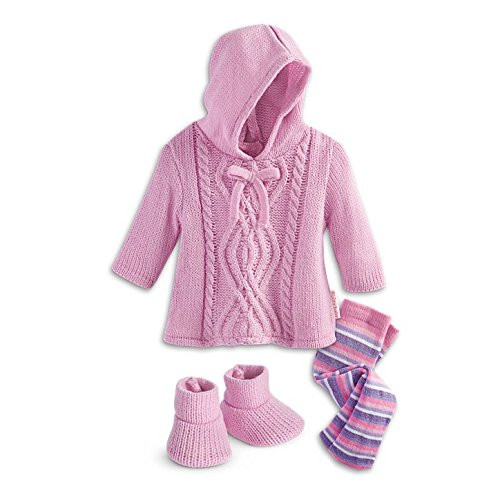 Girl Little Baby Bitty (American Girl Bitty Baby - Snuggly Sweater Outfit for dolls - Bitty Baby 2015)