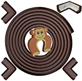 Cheap Crib and Changing Table Sets Baby Proofing Edge & Corner Guards: 6 Piece Furniture Safety Set, Coffee Brown
