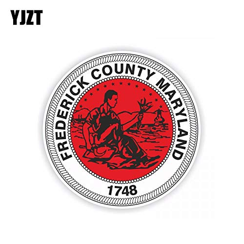 - 12.5CM12.5CM Car Accessories Frederick County Maryland 1748 Styling Decal Car Sticker 6-1972