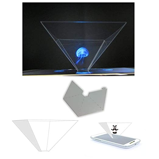 Purital® - Holograma 3D, proyector piramidal. Para móvil ...