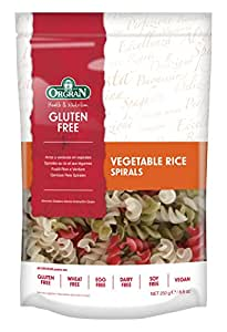 Orgran Vegetable Rice Spirals 250 g (order 7 for trade outer)