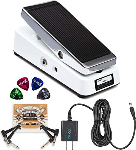 - Xotic Wah XW-1 Guitar Effects Pedal with True Bypass Switch Bundle with Blucoil Slim 9V 670ma Power Supply AC Adapter, 2-Pack of Pedal Patch Cables, and 4-Pack of Celluloid Guitar Picks