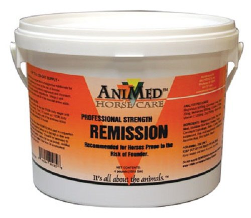 ANIMED 4 lb Professional Strength Remission. For Horses Prone to the Risk of Founder.