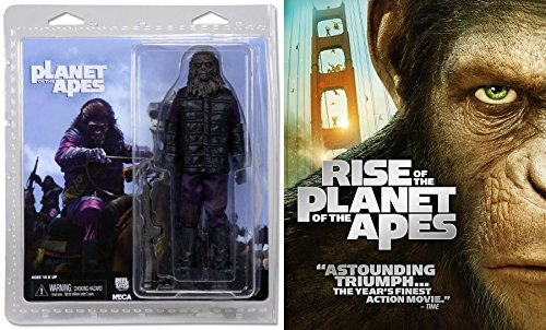 Rise of the Planet of the Apes (2001) Movie Giftset with NECA Gorilla Soldier 7