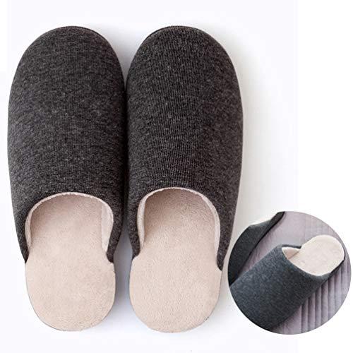 Cm Gris Et Chauds Résistantes 27 Chaussons Chaussures Antidérapants Usure Intérieur Légères Parisana À Confortables Foncé Hiver qSZtxwq7