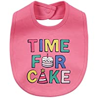 Carter's Time For Cake Cotton Bib for Baby Girls