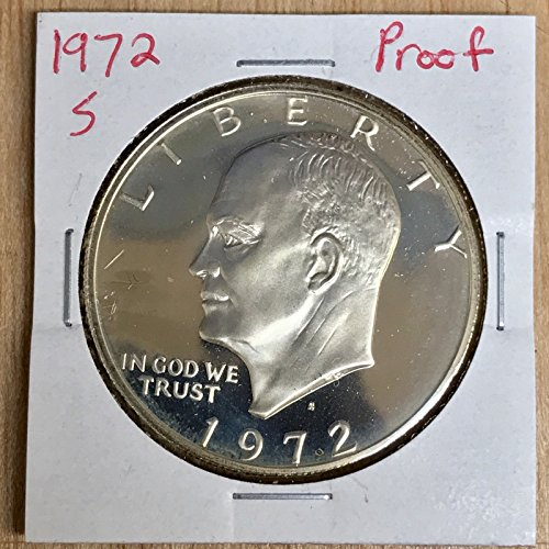 Genuine ~1972-SProof Eisenhower Dollar LOT#W086