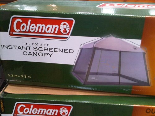 Coleman Screened Canopy Instant Foot