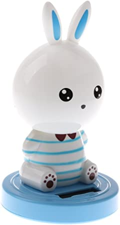SGerste - Figura de conejo con cabeza de nariz con energía ...