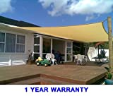 Quictent 26 X 20 ft 185G HDPE Rectangle Sun Sail Shade Canopy UV Block Top Outdoor Cover Patio Garden Sand