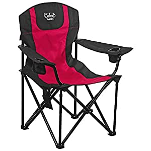 Amazon Com Chaheati Maxx Heated Chair Red Black