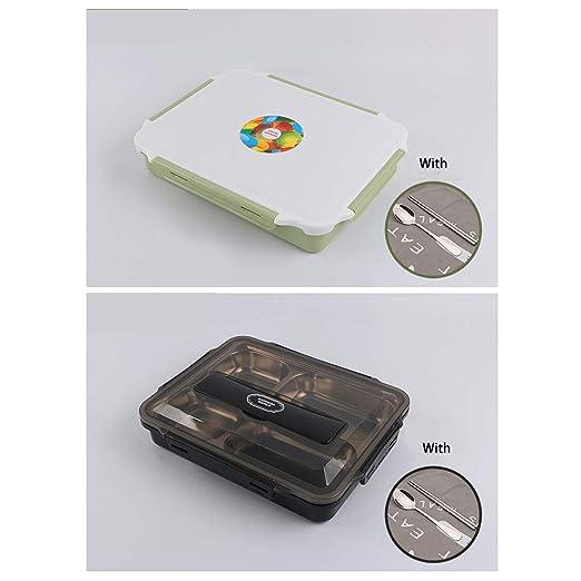CHENYU Fiambrera portátil apilable, Reutilizable, Ligera, sin BPA ...