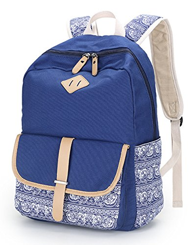 Backpacks Fashion Teen Bag Keshi Backpack Young Canvas Cute Girls Lightweight Pink for Cute zIzxCw