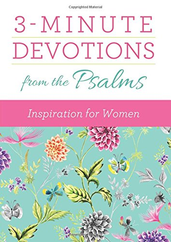 Download 3-Minute Devotions from the Psalms: Inspiration for Women pdf epub