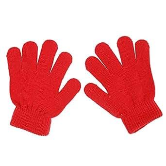 Amazon.com: Padory Baby Gloves, Winter Cute Solid Color