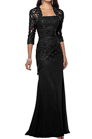 Xoemir Women 2 Piece Long Mother of The Bride Dresses with Jacket ...