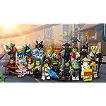 Lego-Film-Ninjago-TM-71019-Complete-Series-con-Tous-Les-20-Personaggi-Vari-Inoltre-Ogni-2-Galaxyarms-sai-Katane-Doppia-Lama-pes-en-o-Argento-e-Selezione-di-omini-da-Singolo-con-1-x