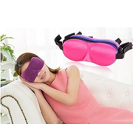 Topdo 1 Pcs Masques de Sommeil Masque des Yeux Masque Cache Yeux pour Dormir pour Voyage ou Lors des Siestes lapr/ès-midi