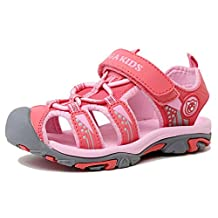 Kencey Summer Breathable Closed-toe Strap Sandals for Boys Girls (Toddler/ Little Kid/ Big Kid)