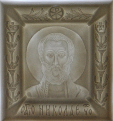 Saint Nicholas by Porcelain&Lithophane Studio