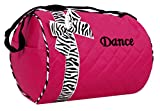 Dance bag – Quilted Zebra Duffle in Hot Pink Review