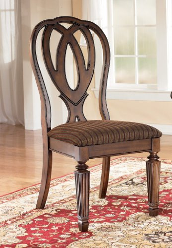 Ashley-Furniture-Signature-Design-Hamlyn-Dining-UPH-Side-Chair-Medium-Brown-Finish-Set-of-2