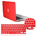 IDACA Red Frosted Matte Hard Shell Ca...