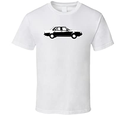 1980 Renault 18 1 6 Turbo Vintage Car Lover Driver Fan Gift T Shirt S White