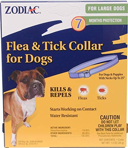 ZODIAC FLEA & TICK COLLAR FOR LARGE DOGS, Part 100520397, Fa