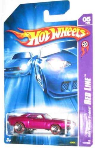 Hot Wheels 1969 Pontiac Firebird #100 Red Line Blue