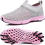 KRIMUS Womens Mens Water Shoes Lightweight Quick Dry Aqua Walking Shoes