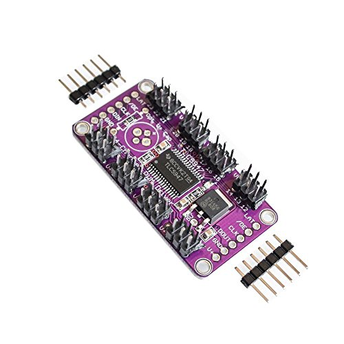 100pcs TLC5947 12-Bit 24-Channel PWM LED Driver Module With Internal Oscillator 12 Bit 3-5.5V by Liliers