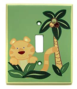 NoJo Jungle Babies Switch Plate Cover