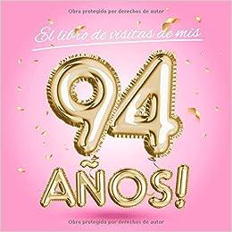 El libro de visitas de mis 94 años: Decoración rosa para el ...