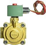 ASCO 8220G410 -120/60,110/50 Brass Body Hot Water