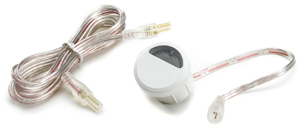 LED Stair Light- Classic White, (4- pack), WTRISERLED4PKC by TREX