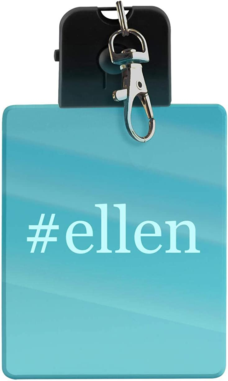 #ellen - Hashtag LED Key Chain with Easy Clasp