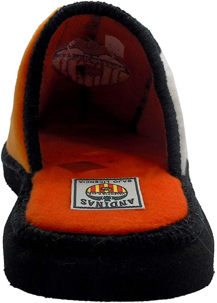 Andinas Chaussons pour Homme Orange Naranja