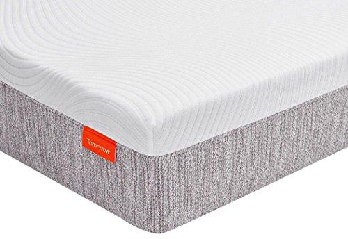 Tomorrow Sleep 600900001-1050 Hybrid Mattress, Queen, White