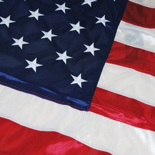 Wet and Windy Duratex II 5'x8' Tricot Knit Polyester U.S. Flag by DuraTex