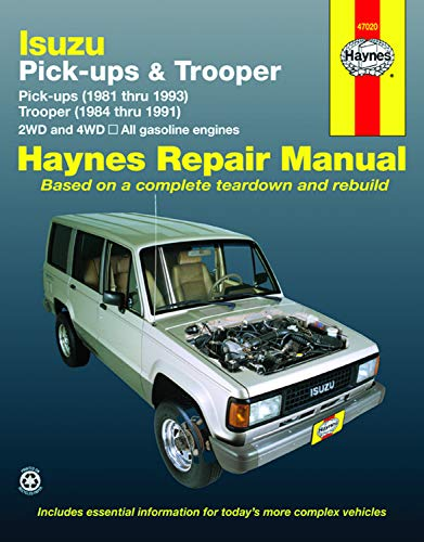 Isuzu Pick-ups (1981 thru 1993) & Trooper (1984 thru 1991) 2WD and 4WD, All Gasoline Engines (Haynes Repair Manuals)
