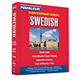 Pimsleur Swedish Conversational Course - Level 1 Lessons 1-16 CD: Learn to Speak and Understand Swedish with Pimsleur Language Programs