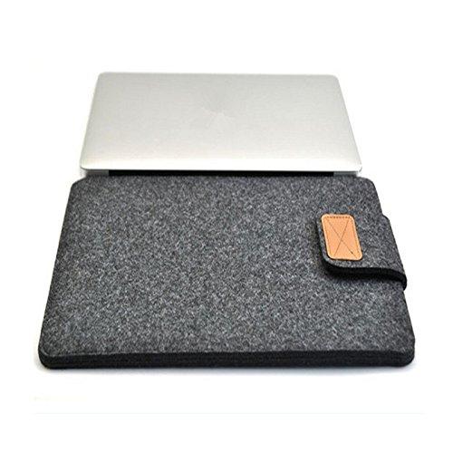 Auntwhale Weicher Ärmel Schlank Tasche Case Cover Handtasche Beschützer Für Apple Macbook Pro 15 Notebook Laptop tragbares Geschenk YyMZ9Ri