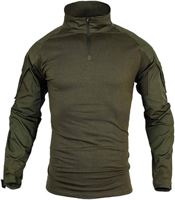 : wujieKD Big Size S 5XL Men Military Shirts
