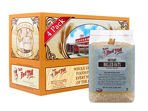 - Bob's Red Mill Instant Rolled Oats, 32 Ounce (Pack of 4)