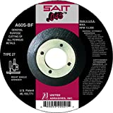 United Abrasives-SAIT 22021 Type 27 4-1/2-Inch x .045-Inch x 7/8-Inch A60S General Purpose Depressed Center Cutting Wheels, 50-Pack